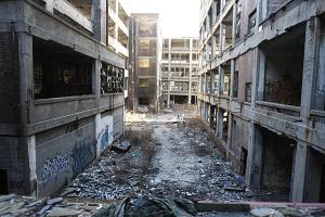 Not World War II. It's just Detroit, 2014