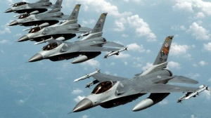 U.S. F-16 fighter jets flying out of Poland, Ukraine's neighbor