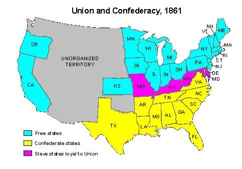 facts on the united states civil war