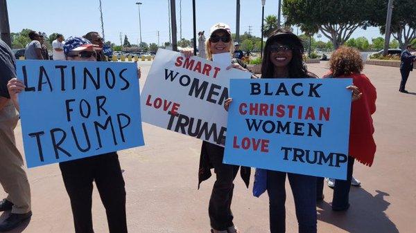 pro Trump minorities