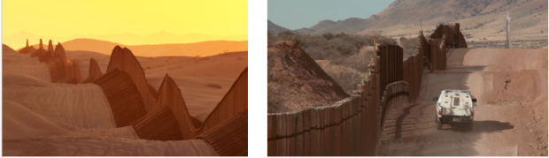 us-mexico wall combined