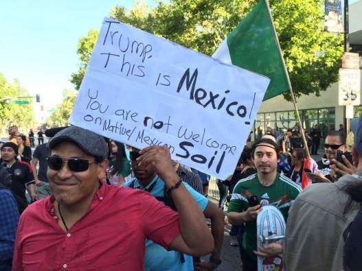 protest san jose Mexico