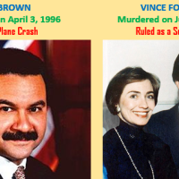 Did Hillary Clinton Murder Vince Foster and Ron Brown?