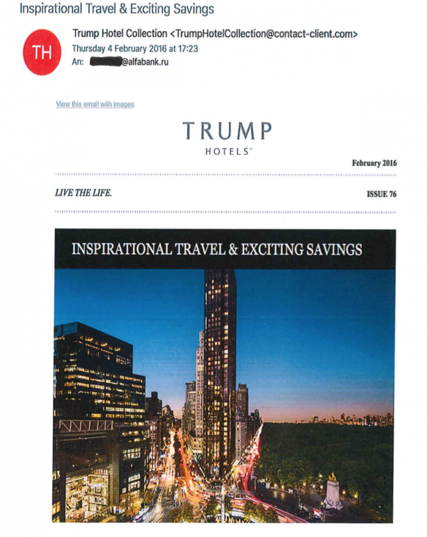 Trump Tower Server Email
