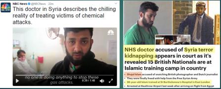 Afbeeldingsresultaat voor fake chemical gas attack