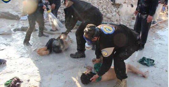 Idlib -white helmets