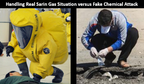 Sarin Gas Real v Fake