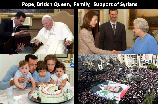 Assad collage