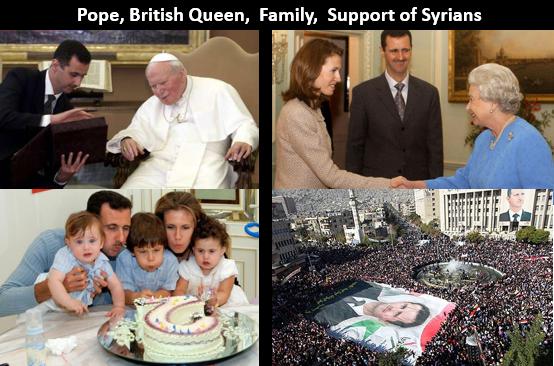 Assad collage