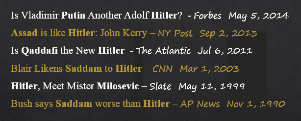 Hitler scare
