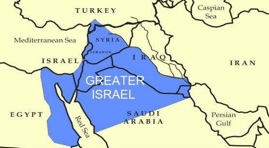 Israel - Yinon Project Greater Israel