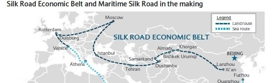 China-Iran Silk Road