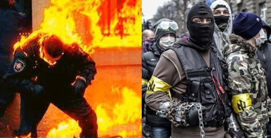 Ukraine Euromaidan Violence 4