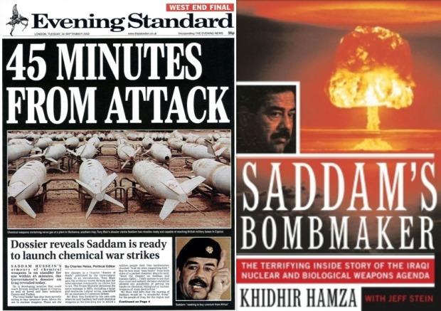 Saddam scare