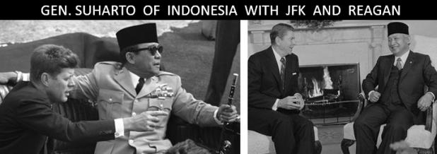 Suharto JFK Reagan