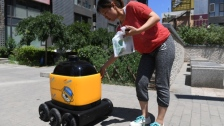 Startup delivers snacks via autonomous delivery bots