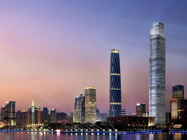 Guangzhou-CTF-Finance-Centre-Skyline