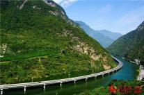 Guzhao highway in Hubei province