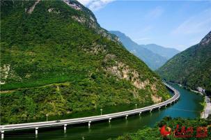Guzhao highway in Hubei province