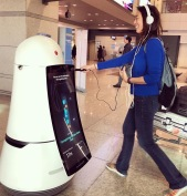 Robots at the airport