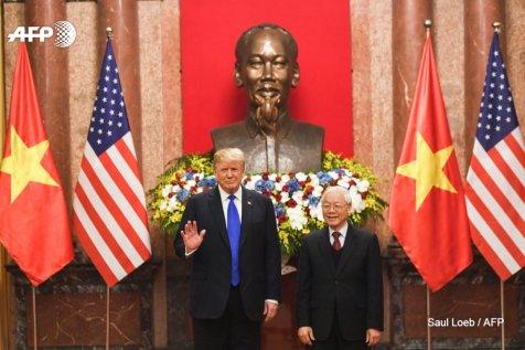 Trump Ho Chi Minh