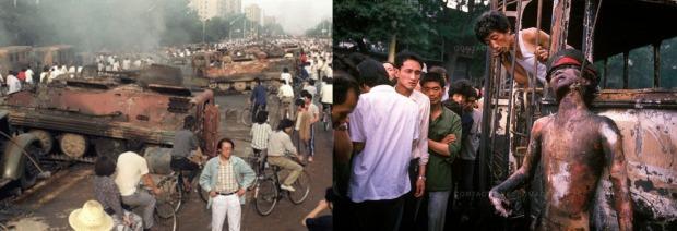 Tiananmen violence