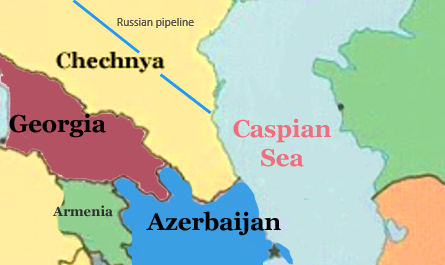 Caspian Chechnya pipeline copy