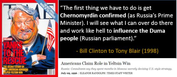 Yeltsin - influence 2